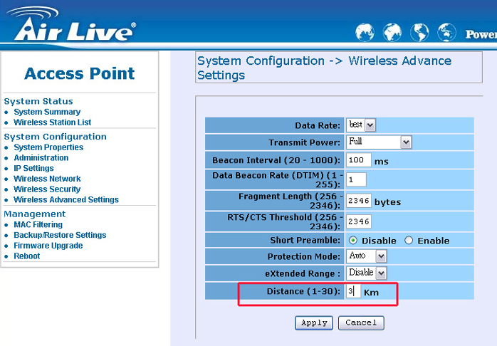 how to change password on ovislink ov504wn router
